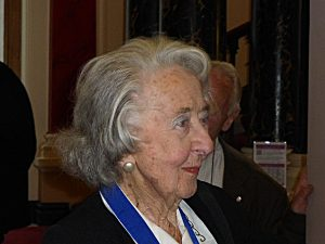 Beatrice de Cardi is 100 today