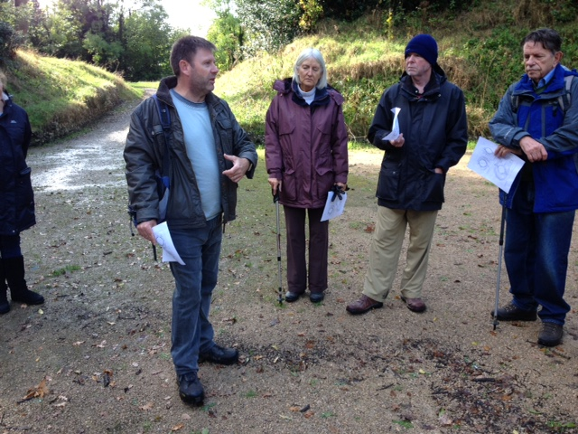 Chris Elmer talks to CBA Wessex members about the amphitheatre at Silchester